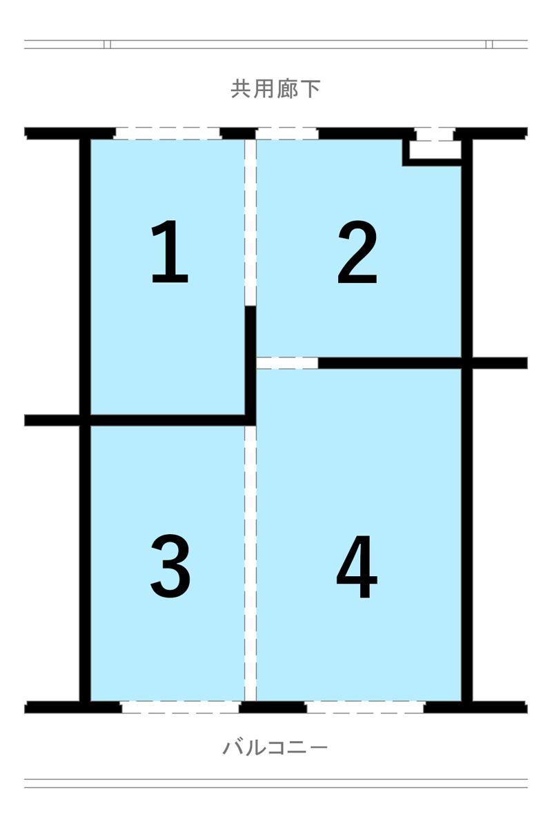 構造体も考慮したプラン一例 Aプラン
