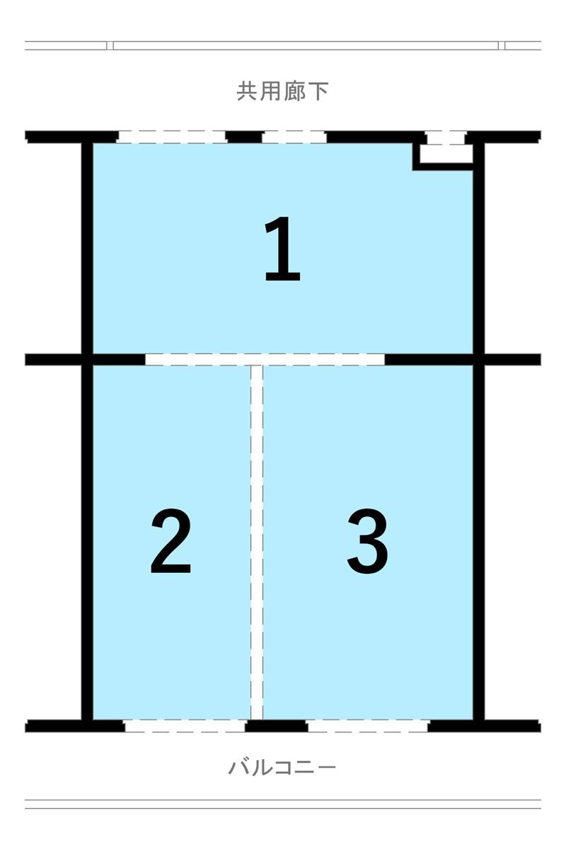 構造体も考慮したプラン一例 Bプラン