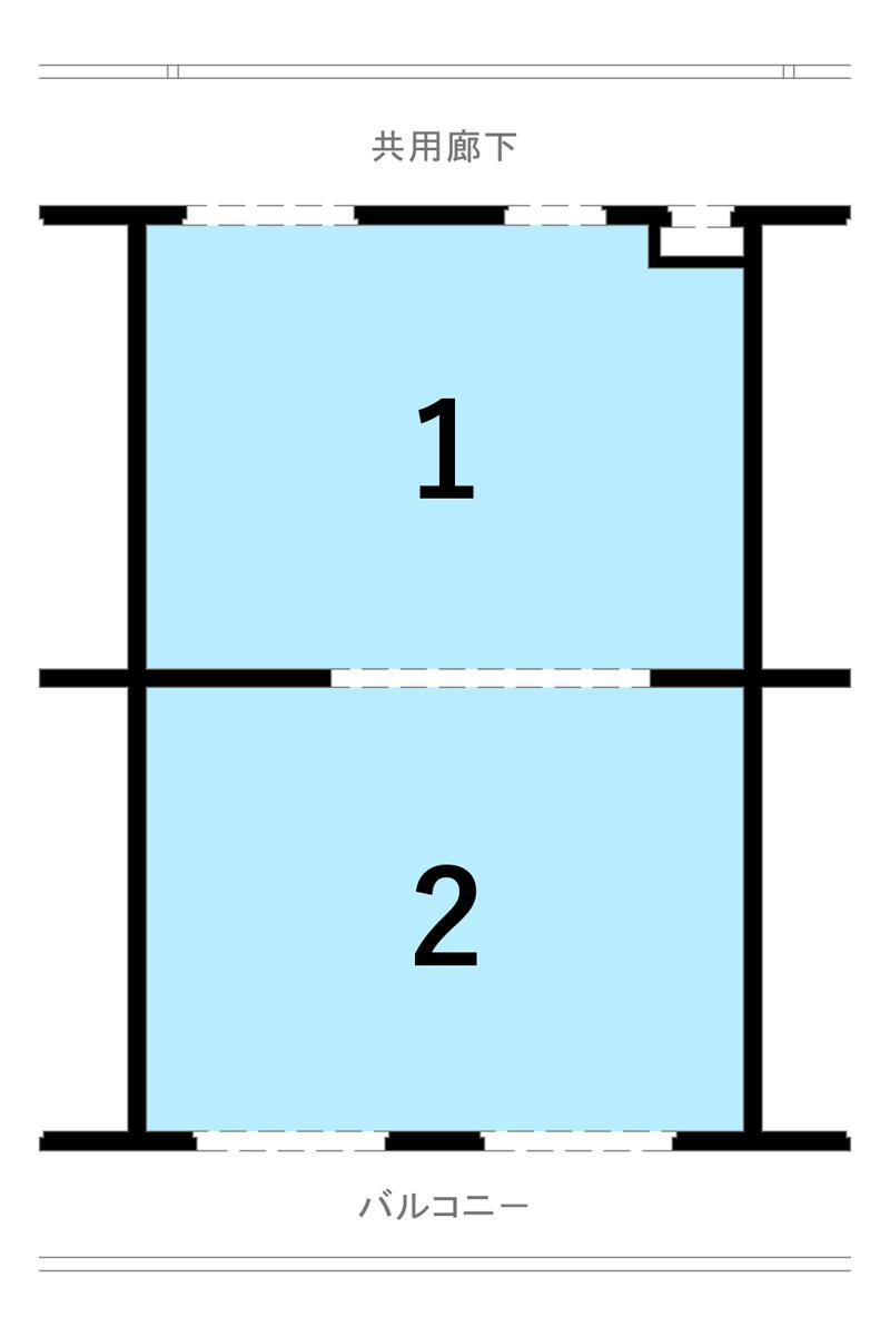 構造体も考慮したプラン一例 Cプラン